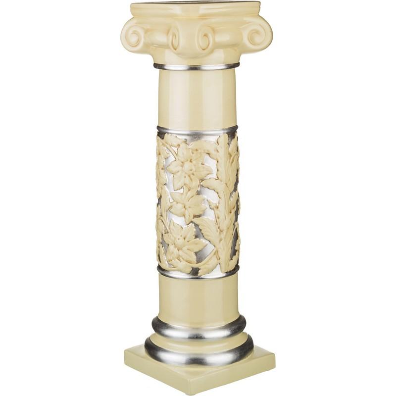 Колонна декоративная Серебро