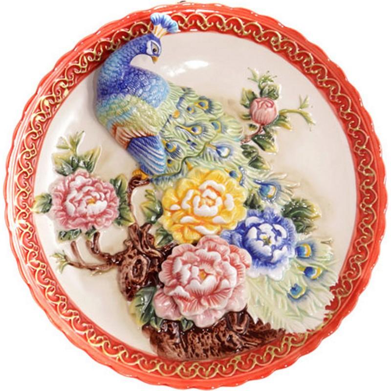 Тарелка декоративная 4