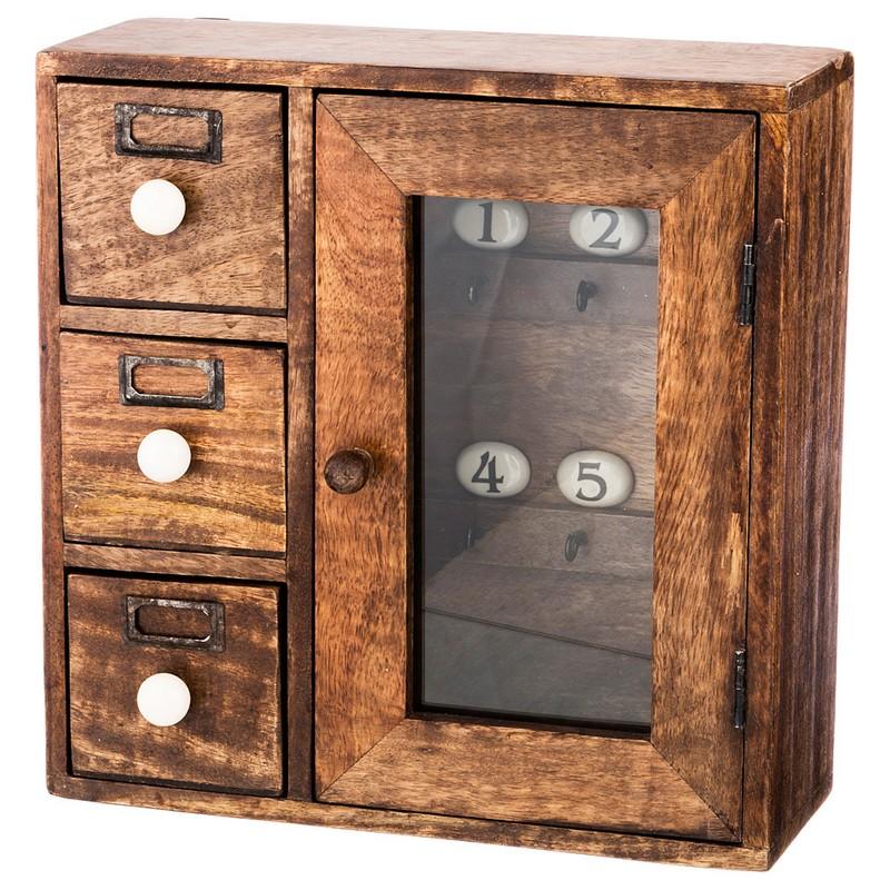 Ключница деревянная 31