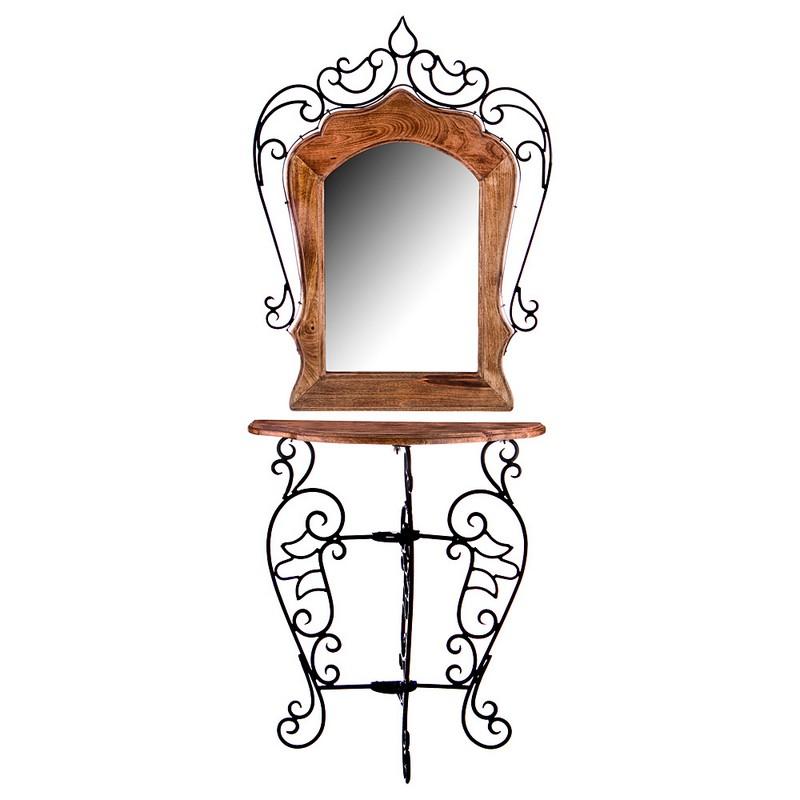 Консоль с зеркалом 67