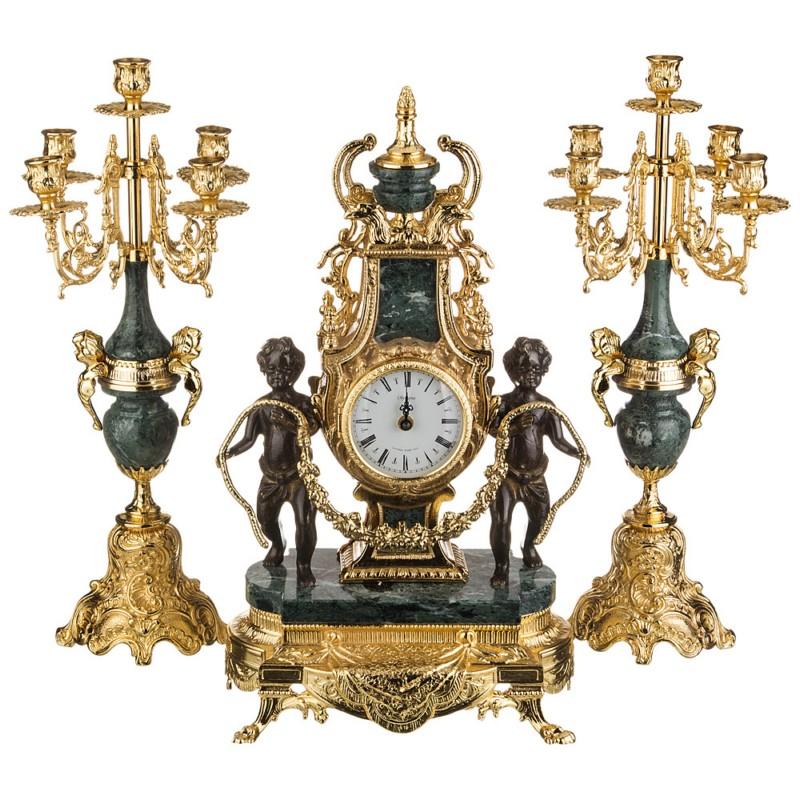 Часы настольные каминные