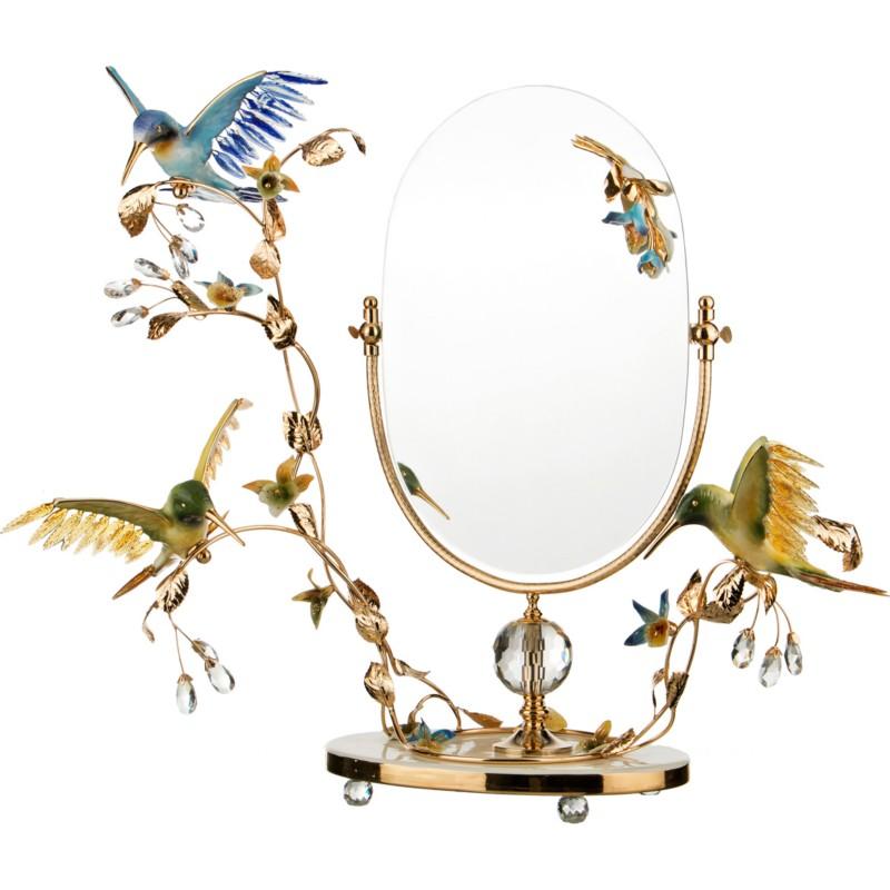 Зеркало настольное КОЛИБРИ