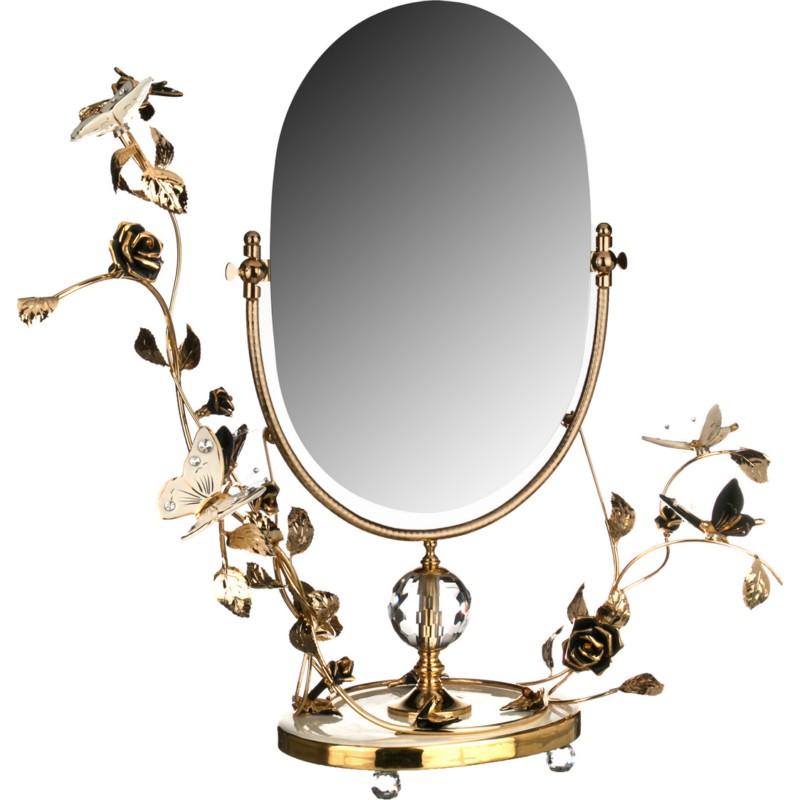 Зеркало настольное БАБОЧКИ