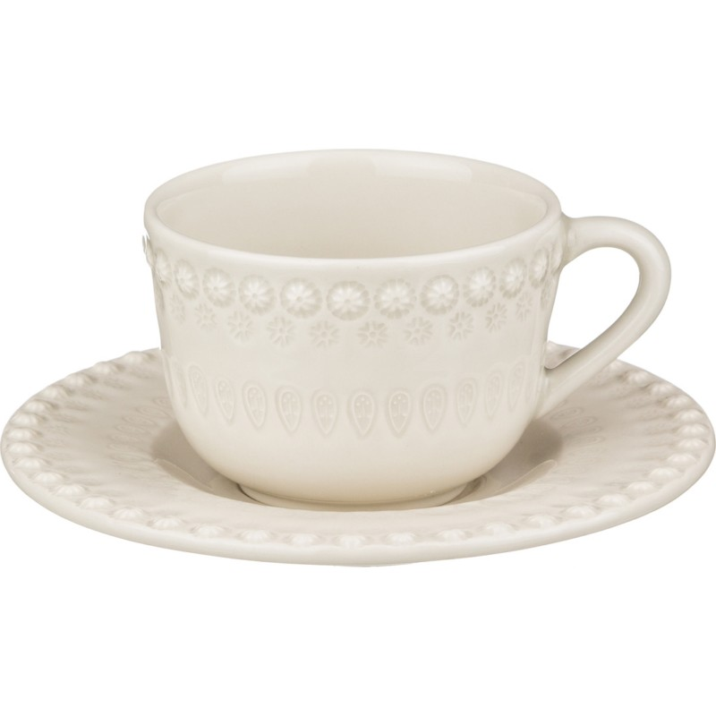 Чайный набор ФАНТАЗИЯ белый